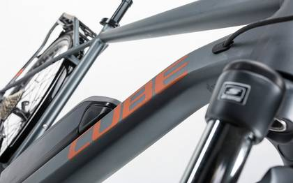 Detail image of Cube Touring Hybrid Exc 400 grey´n´copper 2017 (4)