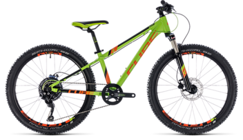 CUBE Kid 240 Race green´n´orange 2018