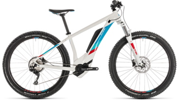 CUBE Access Hybrid Pro 500 white´n´blue 2019