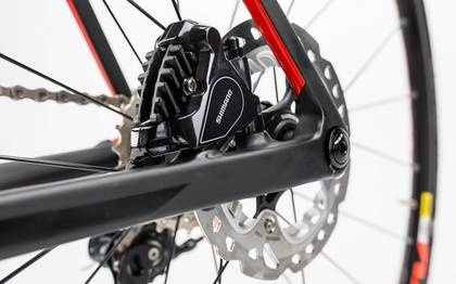 Detail image of Cube Litening C:62 Disc carbon´n´flashred 2017 (8)