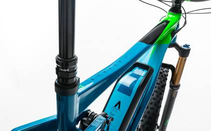 Detail image of Cube Stereo Hybrid 140 HPA SLT 500 27.5+ blue´n´green 2017 (4)