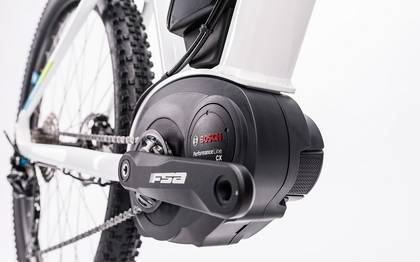 Detail image of Cube Access WLS Hybrid Pro 500 white´n´blue 2017 (8)