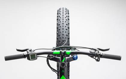 Detail image of Cube Nutrail Hybrid 500 black´n´green 2017 (1)