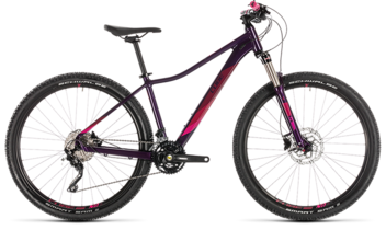 CUBE Access WS Race aubergine´n´berry 2019