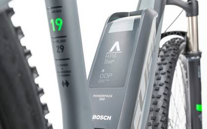 Detail image of Cube Reaction Hybrid HPA Race 500 grey´n´flashgreen 2017 (11)