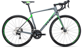 CUBE Attain GTC Pro Disc grey´n´flashgreen 2017