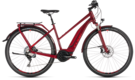 CUBE Touring Hybrid EXC 500 darkred´n´red 2019