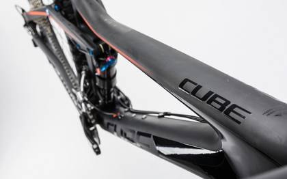 Detail image of Cube Stereo 140 C:62 Race 27.5 carbon´n´flashorange 2017 (7)
