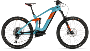 CUBE Stereo Hybrid 160 HPC SL 625 27.5 glacierblue´n´orange 2020