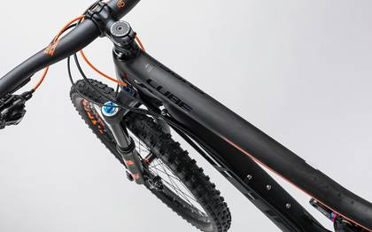Detail image of Cube Stereo 140 C:62 Race 27.5 carbon´n´flashorange 2017 (2)