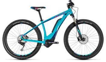CUBE Access Hybrid Race 500 turquoise´n´raspberry 2018