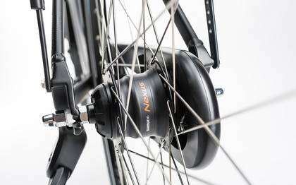 Detail image of Cube Town Pro Comfort black 2017 (17)