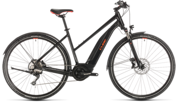 CUBE Nature Hybrid EXC 500 Allroad black´n´red 2020