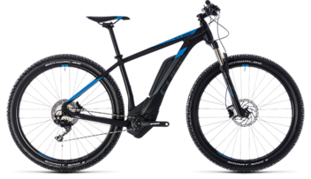 CUBE Reaction Hybrid Race 500 black´n´blue 2018