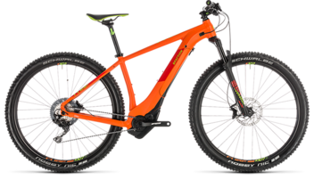 CUBE Reaction Hybrid SL 500 KIOX orange´n´green 2019