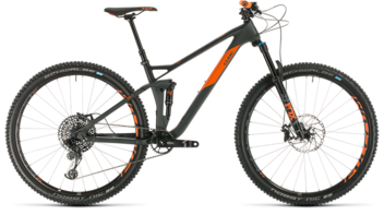 CUBE Stereo 120 HPC TM 29 grey´n´orange 2020