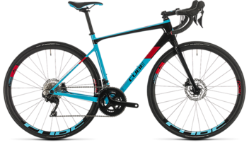 CUBE Axial WS GTC Pro lightblue´n´red 2020