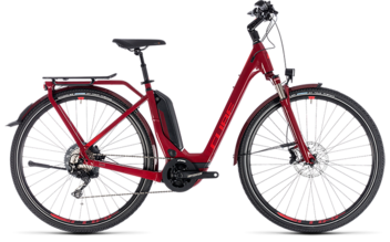 CUBE Touring Hybrid EXC 500 darkred´n´red 2018 / 2019