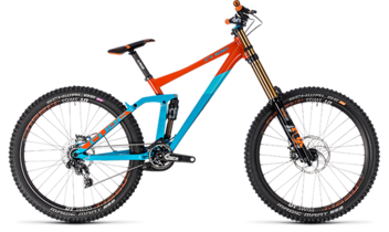 CUBE TWO15 SL 27.5 blue´n´orange 2018