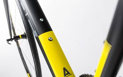 Detail image of Cube Attain SL black´n´yellow 2017 (4)
