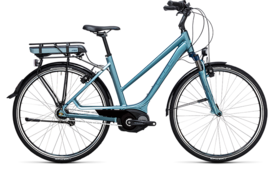 CUBE Travel Hybrid ONE 400 bluegreen´n´blue 2017