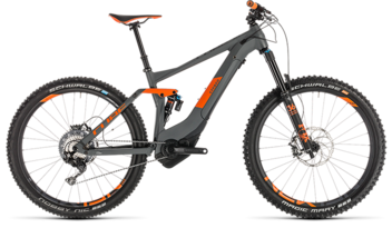 CUBE Stereo Hybrid 140 TM 500 KIOX 27.5 grey´n´orange 2019