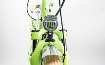 Detail image of Cube Elly Ride Hybrid 400 green´n´white 2017 (6)