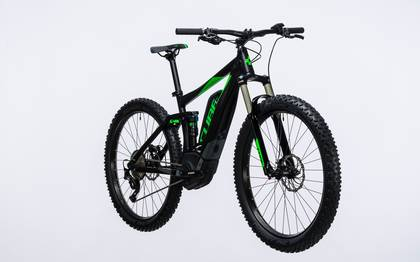 Detail image of Cube Stereo Hybrid 120 HPA Race 500 27.5+ black´n´green 2017 (3)