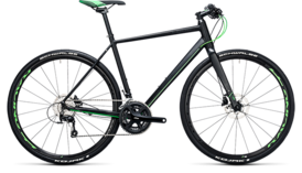 CUBE SL Road Race black´n´flashgreen 2017