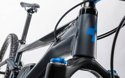 Detail image of Cube Stereo Hybrid 120 HPA Race 500 iridium´n´flashblue 2017 (6)