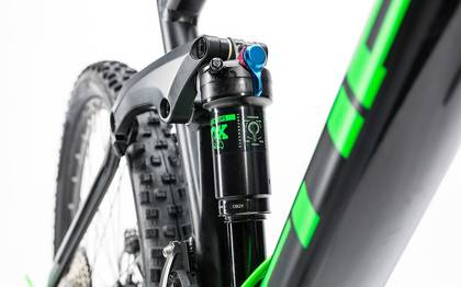Detail image of Cube Stereo 120 HPA SL black´n´green 2017 (8)
