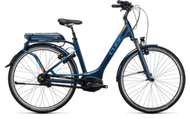 CUBE Travel Hybrid Pro 500 smoky blue´n´flashorange 2017