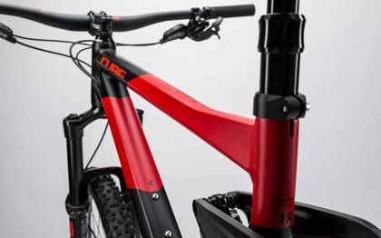 Detail image of Cube Stereo 160 HPA Race 27.5 black´n´red 2017 (6)