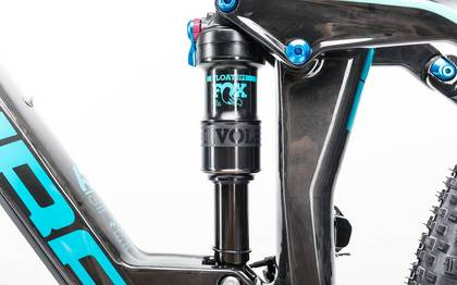 Detail image of Cube Stereo 160 C:62 Race 27.5 carbon´n´blue 2017 (10)