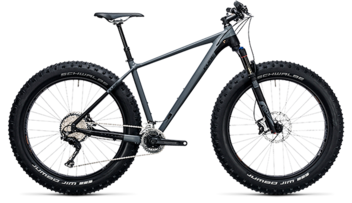 CUBE Nutrail Race grey´n´black 2018