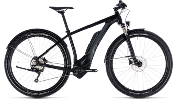 CUBE Reaction Hybrid Pro Allroad 400 black´n´grey 2018