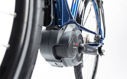 Detail image of Cube Touring Hybrid Pro 500 blue´n´blue 2017 (2)