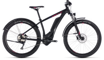 CUBE Access Hybrid Pro Allroad 400 black´n´berry 2018