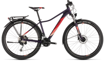 CUBE Access WS Pro Allroad aubergine´n´rose 2019