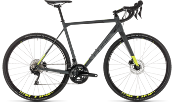 CUBE Cross Race Pro grey´n´flashyellow 2019