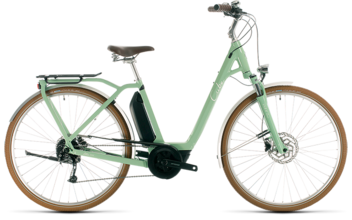 CUBE Ella Ride Hybrid 400 green´n´white 2020