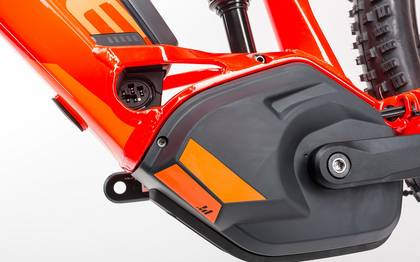 Detail image of Cube Stereo Hybrid 120 HPA Race 500 red´n´flashorange 2017 (8)