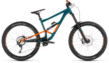 CUBE Hanzz 190 Race 27.5 pinetree´n´orange 2019