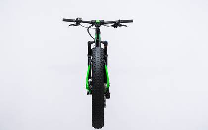 Detail image of Cube Nutrail Hybrid 500 black´n´green 2017 (9)