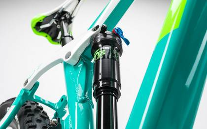 Detail image of Cube Sting WLS 140 Race 27.5 2x mint´n´green 2017 (11)