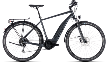 CUBE Touring Hybrid ONE 400 iridium´n´black 2018