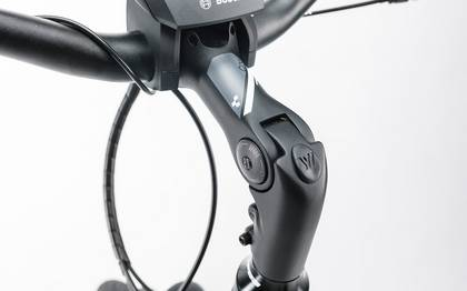 Detail image of Cube Travel Hybrid RT 500 black´n´white 2017 (13)