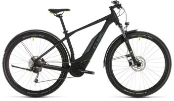 CUBE Acid Hybrid ONE 400 Allroad 29 black´n´green 2020
