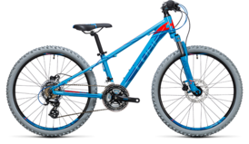 CUBE Kid 240 Disc blue´n´flashred 2017