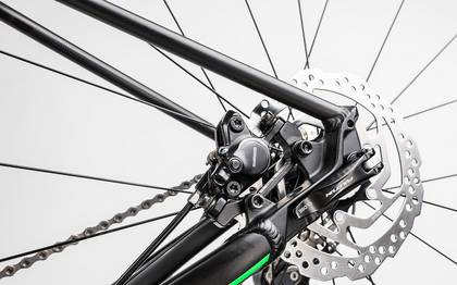 Detail image of Cube SL Road Race black´n´flashgreen 2017 (13)